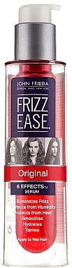 Haarserum mit Anti-Frizz-Wirkung und Hitzeschutz - John Frieda Frizz Ease Original 6 Effects Serum — Bild N3