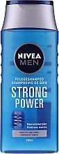 """Düfte, Parfümerie und Kosmetik Pflegeshampoo für Männer """"Strong Power"""" - Nivea For Men Shampoo"""