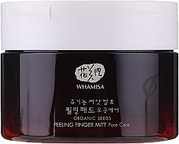 Düfte, Parfümerie und Kosmetik Bio-Samen-Gesichtspeeling - Whamisa Organic Seeds Peeling Finger Mitt Pore Care
