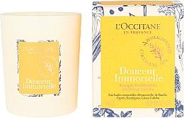 Duftkerze im Glas Douceur Immortelle - L'Occitane Revitalizing Candle — Bild N1