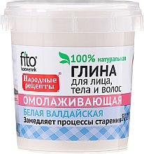 Düfte, Parfümerie und Kosmetik Weißer Waldai-Ton für Gesicht und Körper mit verjüngender Wirkung - Fito Kosmetik