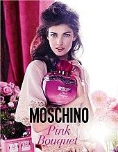 Moschino Pink Bouquet - Duftset (Eau de Toilette 100ml+rosa Herztasche) — Bild N2
