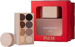 Düfte, Parfümerie und Kosmetik Make-up Set - Paese Selflove Set 3 (Matte Lidschatten-Palette 12g + Augenpuder 5.3g)