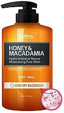 Düfte, Parfümerie und Kosmetik Duschgel mit Kirschblüten - Kundal Honey & Macadamia Body Wash Cherry Blossom