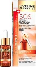 Düfte, Parfümerie und Kosmetik SOS Anti-First-Falten Nachtserum - Eveline Cosmetics Facemed+