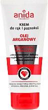 Düfte, Parfümerie und Kosmetik Hand- und Nagelcreme mit Arganöl - Anida Pharmacy Argan Oil Hand Cream