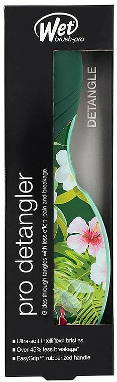 Haarbürste - Wet Brush Pro Detangler Neon Floral Tropics — Bild N3