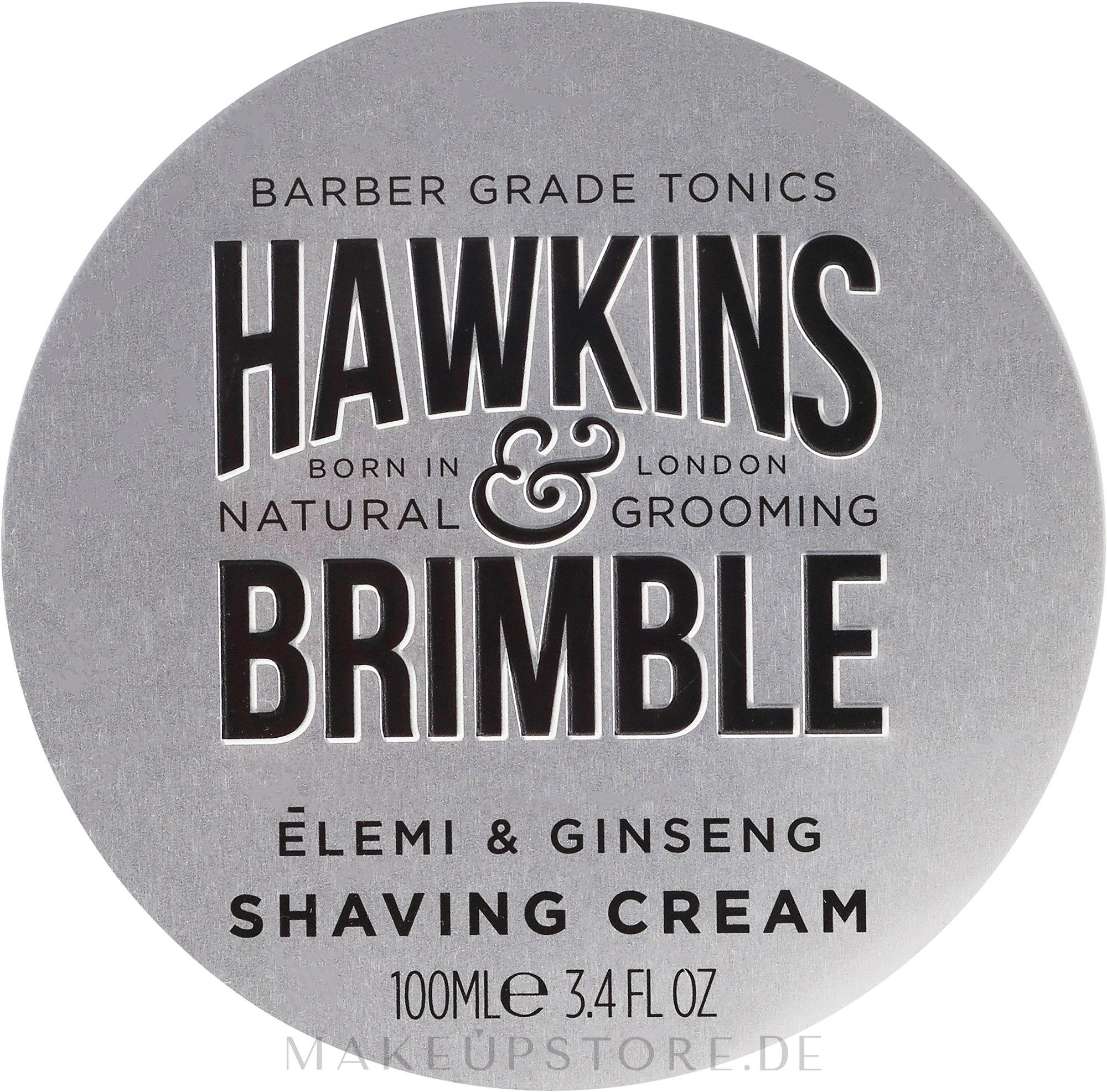 Rasiercreme - Hawkins & Brimble Elemi & Ginseng Shaving Cream — Bild 100 ml