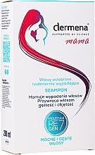 Düfte, Parfümerie und Kosmetik Stärkendes Shampoo für schwaches Haar und gegen Haarausfall - Dermena Mama Shampoo