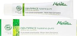 Düfte, Parfümerie und Kosmetik Zahnpasta - Melvita Dentifrice Pure Breath Toothpaste