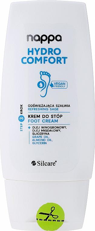 Erfrischende Fußcreme mit kühlender Wirkung - Silcare Nappa Foot Cream — Bild N1