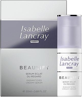 Regenerierendes und glättendes Serum gegen dunkle Augenringe und Tränensäcke - Isabelle Lancray Beaulift Radiant Eye Creamy Serum — Bild N1