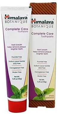 Zahnpasta mit Minzgeschmack Complete Care - Himalaya Botanique Complete Care Toothpaste Simply Mint — Bild N1