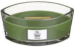 Düfte, Parfümerie und Kosmetik Duftkerze im Glas Evergreen - Woodwick Hearthwick Flame Ellipse Candle Evergreen