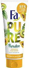 Düfte, Parfümerie und Kosmetik Duschgel mit Papaya- und Kiwiduft - Fa Pure Paradise Shower Gel Papaya & Kiwi