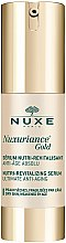 Düfte, Parfümerie und Kosmetik Nährendes und revitalisierendes Gesichtsserum - Nuxe Nuxuriance Gold Nutri-Revitalizing Serum