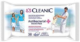 Düfte, Parfümerie und Kosmetik Antibakterielle Feuchttücher 40 St. - Cleanic Antibacterial Wipes