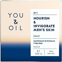 Düfte, Parfümerie und Kosmetik Pflegende Seife für Männer - You & Oil Nourish & Invigorate Men