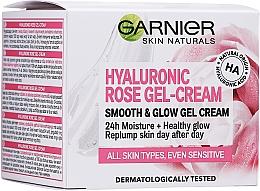 Gesichtscreme-Gel für empfindliche Haut - Garnier Skin Naturals Hyaluronic Rose Gel Cream — Bild N2