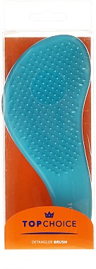 "Entwirrbürste ""Detangler Rubberised"" blau-orange 63916 - Top Choice — Bild N1"