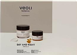 Düfte, Parfümerie und Kosmetik Gesichtspflegeset - Veoli Botanica Day And Night (Gesichtscreme 60ml + Augencreme 15ml)