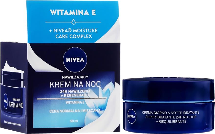 Regenerierende Nachtcreme mit Vitamin E - Nivea 24H Regenerating Night Cream With Vitamin E — Bild N1