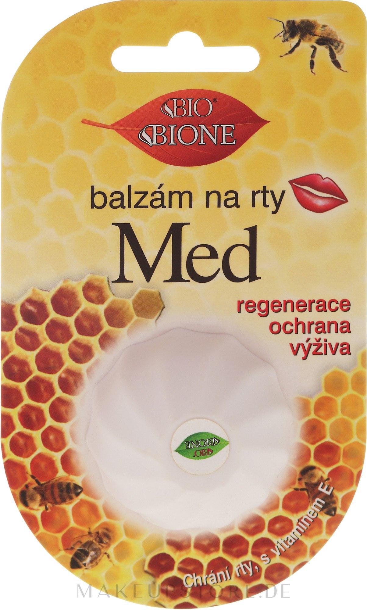 """Lippenbalsam """"Honig"""" - Bione Cosmetics Honey Vitamin E Lip Balm — Bild 6 ml"""
