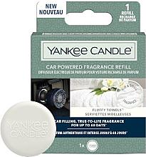 Düfte, Parfümerie und Kosmetik Auto-Lufterfrischer Car Fluffy Towels - Yankee Candle Car Powered Fragrance Fluffy Towels (Refill)