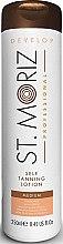 Düfte, Parfümerie und Kosmetik Selbstbräuner-Lotion Mittelstufe mit Olive und Vitamin E - St.Moriz Self Tanning Lotion Medium