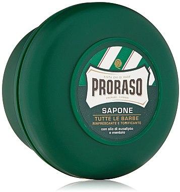 Rasierseife mit Menthol- und Eukalyptus - Proraso Green Shaving Soap — Bild N4