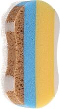 Düfte, Parfümerie und Kosmetik Badeschwamm 6047 gelb-blau-braun - Donegal