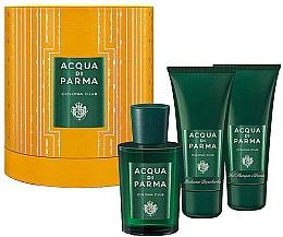 Düfte, Parfümerie und Kosmetik Acqua di Parma Colonia Club - Duftset (Eau de Cologne 100ml + Duschgel 75ml + After Shave Balsam 75ml)