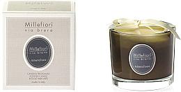 Düfte, Parfümerie und Kosmetik Duftkerze im Glas Mineral Sea - Millefiori Milano Via Brera Candle Mineral Sea