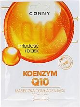 Düfte, Parfümerie und Kosmetik Straffende Anti-Aging Tuchmaske mit Coenzym Q10 - Conny Q10 Essence Mask