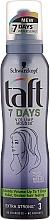 Düfte, Parfümerie und Kosmetik Schaumfestiger für mehr Volumen extra starker Halt - Schwarzkopf Taft 7 Days Volume Mousse