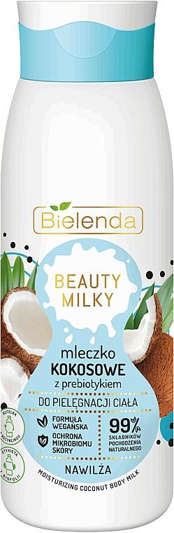 Feuchtigkeitsspendende Körpermilch mit Kokosnuss - Bielenda Beauty Milky Moisturizing Coconut Body Milk