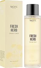 Düfte, Parfümerie und Kosmetik Gesichtstonikum mit Hyaluronsäure, Bambus- und Zitronenextrakt und Niacinamid - Nacific Fresh Herb Origin Toner