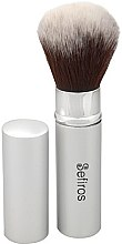 Düfte, Parfümerie und Kosmetik Make-up Pinsel - Sefiros Silver Retractable Brush