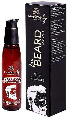 Argan- und Jojobaöl für Bart und Haar - One&Only Cosmetics For Beard&Hair Argan&Jojoba Beard Oil — Bild N1