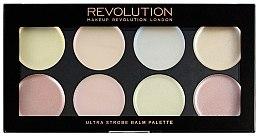 Düfte, Parfümerie und Kosmetik Lidschattenpalette für strahlende Haut - Makeup Revolution Ultra Strobe Balm Palette