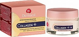 Düfte, Parfümerie und Kosmetik Intensive Anti-Aging Nachtcreme - Dermacol Collagen+ Intensive Rejuvenating Night Cream
