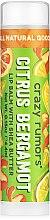 Düfte, Parfümerie und Kosmetik Lippenbalsam mit Sheabutter - Crazy Rumors Citrus Bergamot Lip Balm