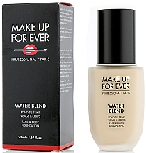 Düfte, Parfümerie und Kosmetik Foundation für Gesicht und Körper - Make Up For Ever Water Blend Foundation