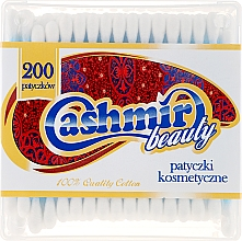 Düfte, Parfümerie und Kosmetik Wattestäbchen, 200 St - Cashmir