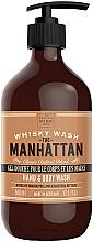 Düfte, Parfümerie und Kosmetik Hand- und Körperwaschgel mit Orangenduft und Angostura Bitters - Scottish Fine Soaps Hand & Body Wash Manhattan Whisky