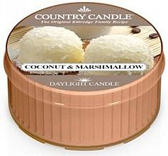 Düfte, Parfümerie und Kosmetik Duftkerze Coconut & Marshmallow - Country Candle Coconut Marshmallow Daylight