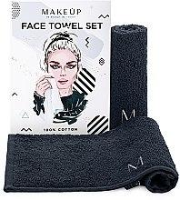 Düfte, Parfümerie und Kosmetik Reiseset Gesichtstücher MakeTravel schwarz - Makeup Face Towel Set