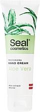 Düfte, Parfümerie und Kosmetik Feuchtigkeitsspendende Handcreme mit Aloe Vera - Seal Cosmetics Moisturizing Hand Cream