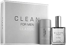 Düfte, Parfümerie und Kosmetik Clean Clean For Men Classic - Duftset (Eau de Toilette/60ml + Deodorant/75g)