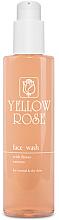 Düfte, Parfümerie und Kosmetik Tiefreinigendes Gesichtswaschgel mit Blütenextrakten für normale und trockene Haut - Yellow Rose Face Wash With Flower Extracts